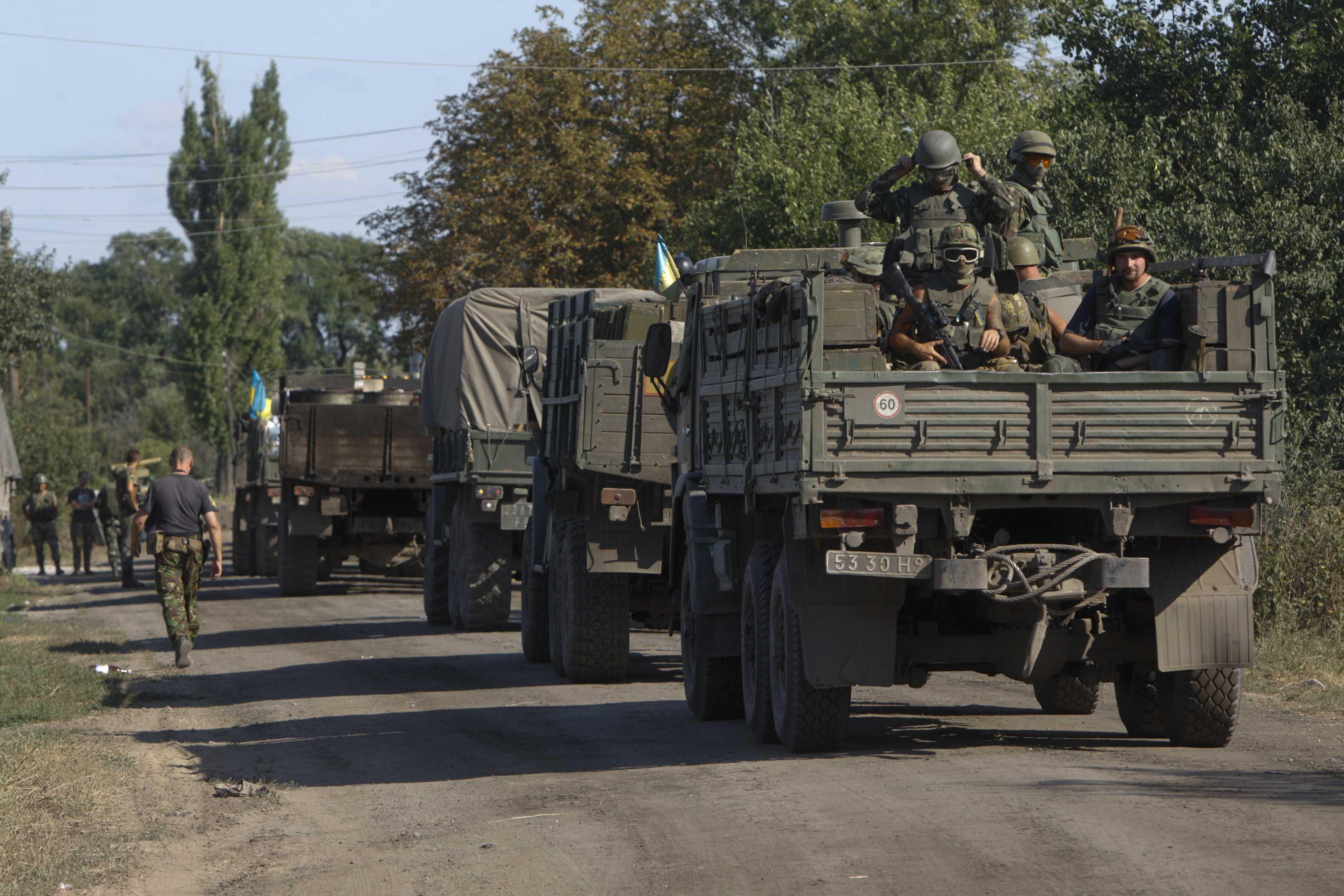 Украинские силовики