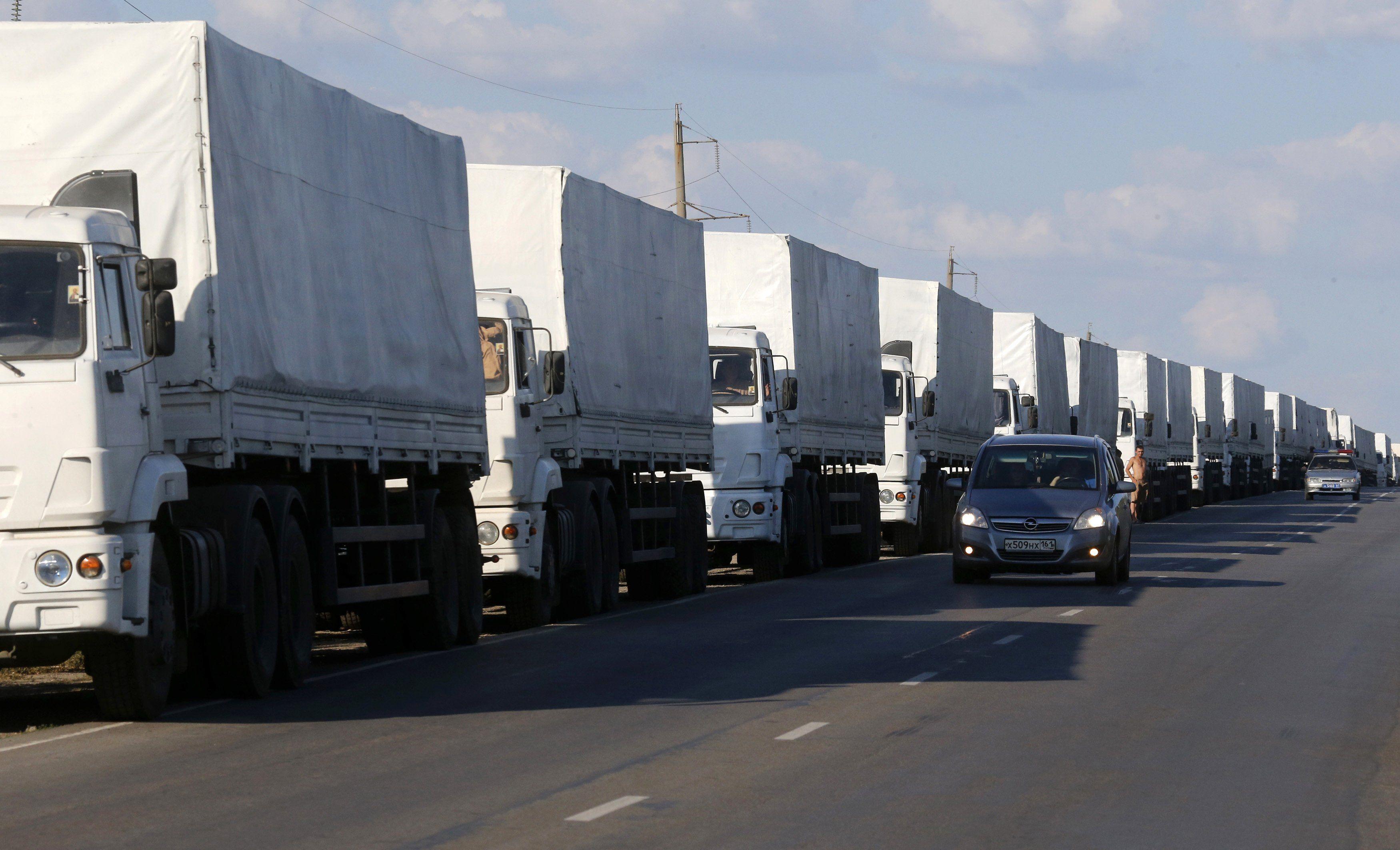 Российский гуманитарный конвой, иллюстрация