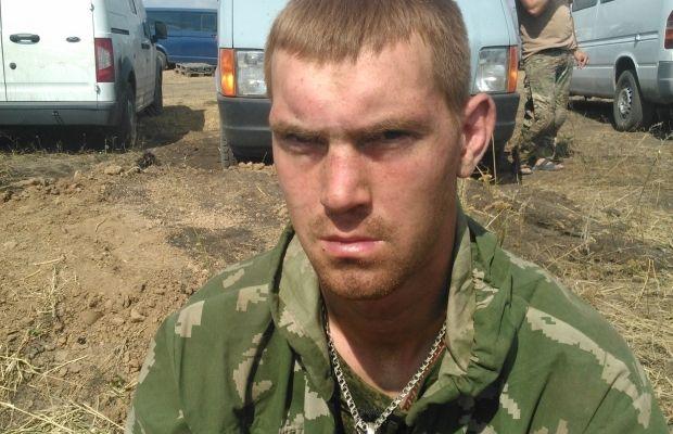 Российский солдат Романцев задержаный СБУ