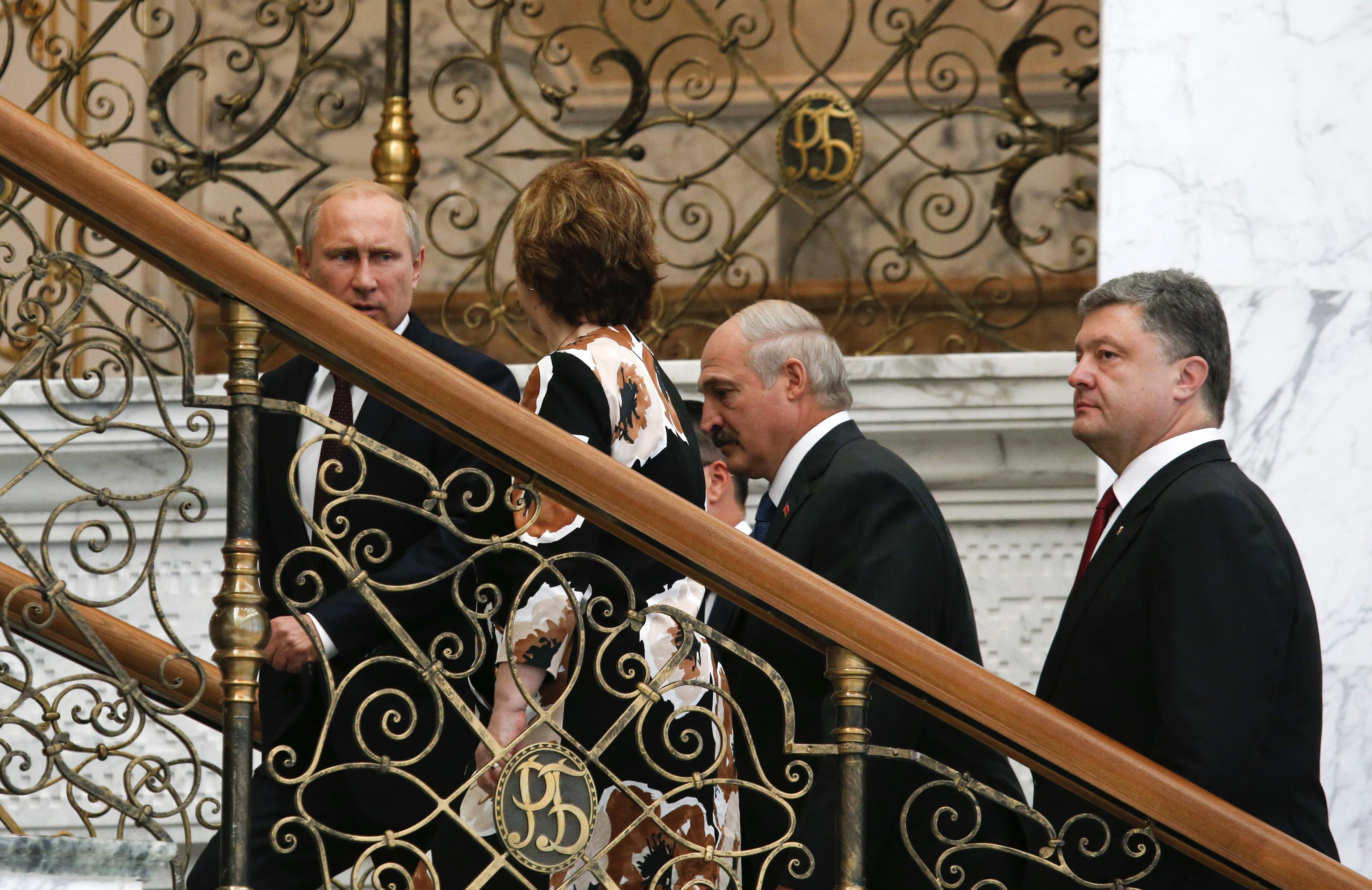 Встреча президентов в Минске, иллюстрация