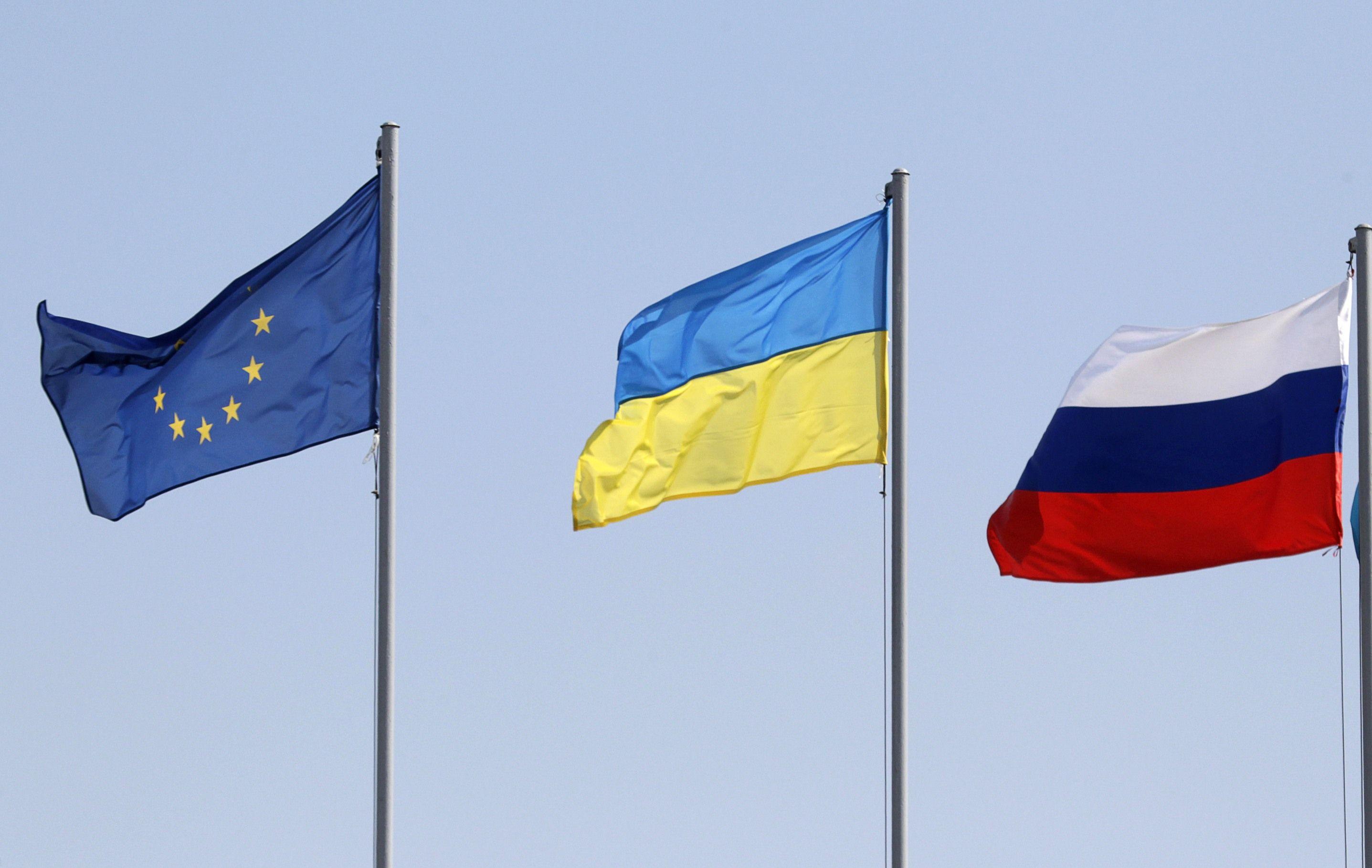 Украина, Россия, Евросоюз