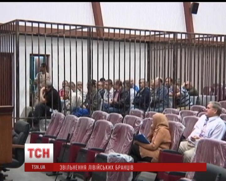 Суд освободил украинских пленников