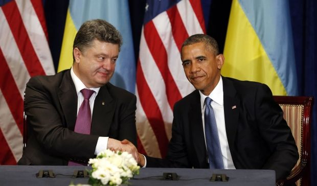 Президенты Украины и США