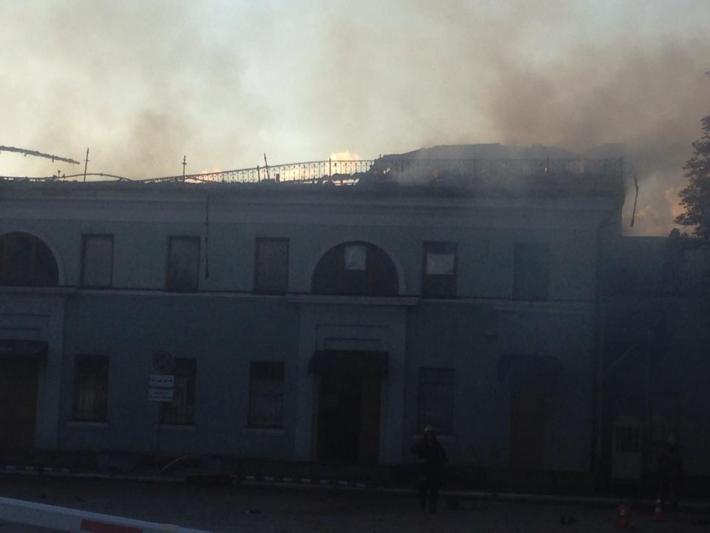 Боевики превращают Донецк в развалины