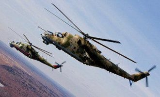 Ми-24 часто вторгаются на украинскую территорию
