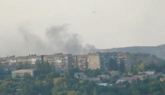 Боевики превращают Горловку в развалины