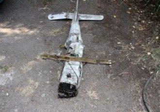 Сбитый российский беспилотник