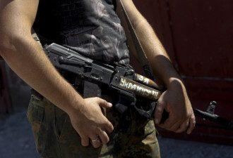 Украинский силовик на Донбассе