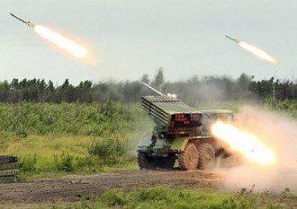Боевики активно обстреливают позиции сил АТО из