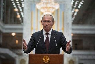 Путин после переговоров в Минске