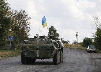 Украинские силовики на Донбассе