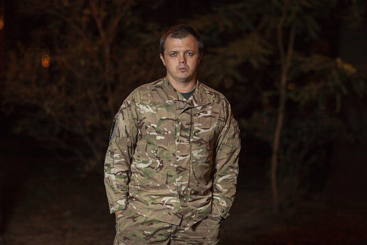 Комбат Семенченко никогда не был офицером