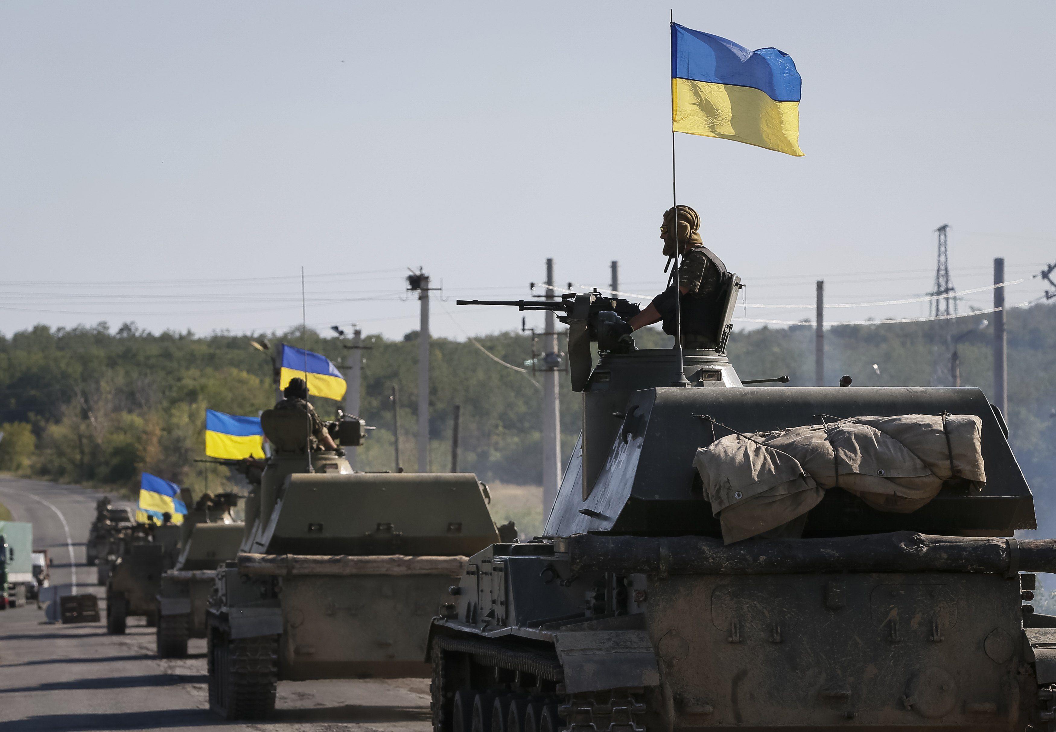 Разведение сил на Донбассе — Украинские военные покинули позицию у Станицы Луганской в рамках процесса разведения сил