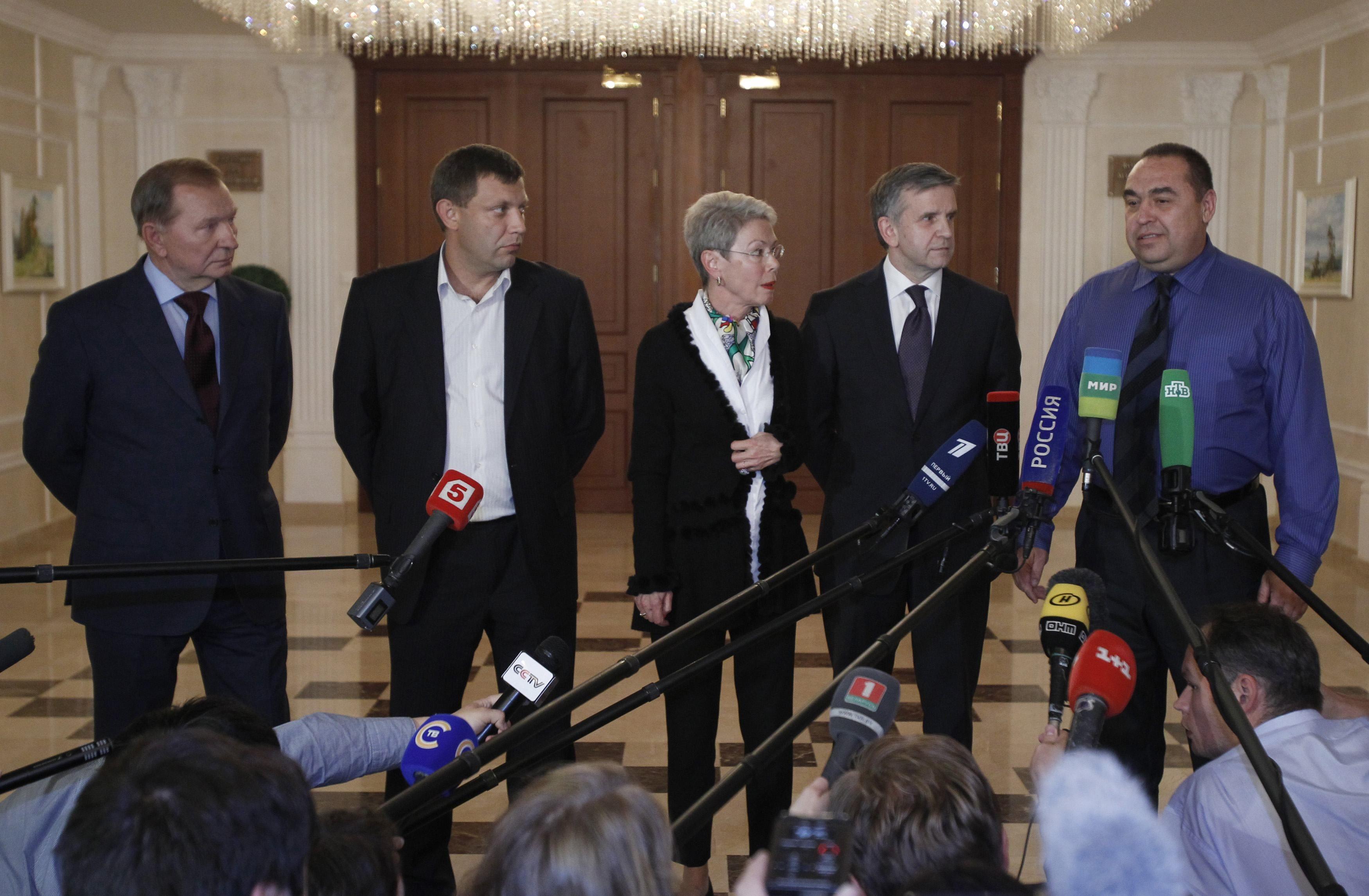 Между Украиной и боевиками проходит видеоконференция