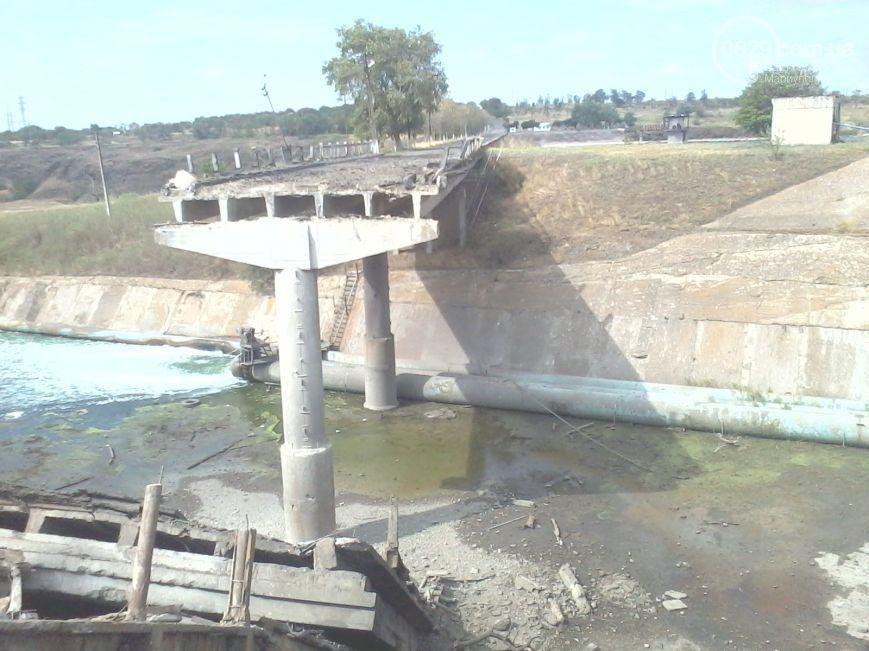 В Мариуполе взрывают мосты, иллюстрация