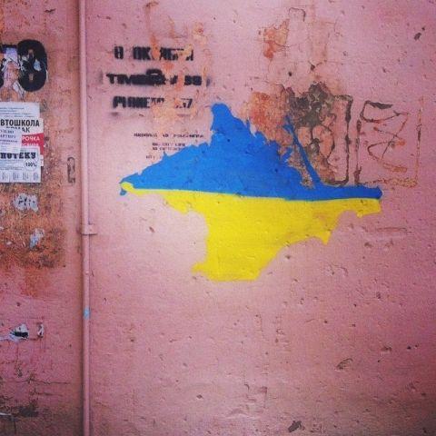 Bloomberg удалил карту, на которой Крым