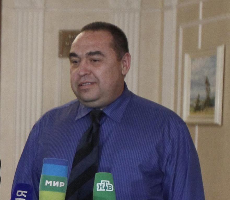 Самозваный главарь ЛНР Игорь Плотницкий