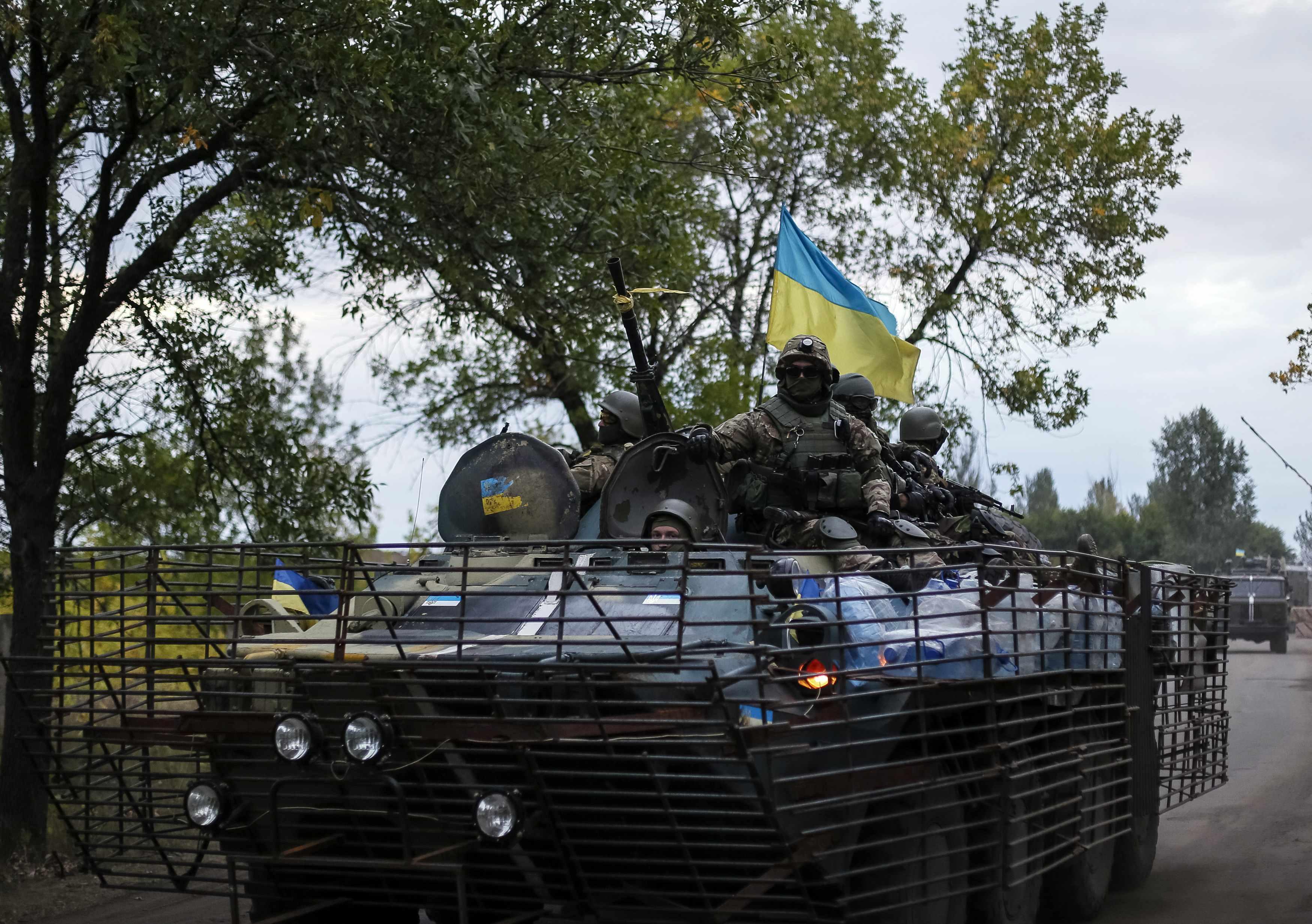 Силы АТО готовы отразить атаки боевиков