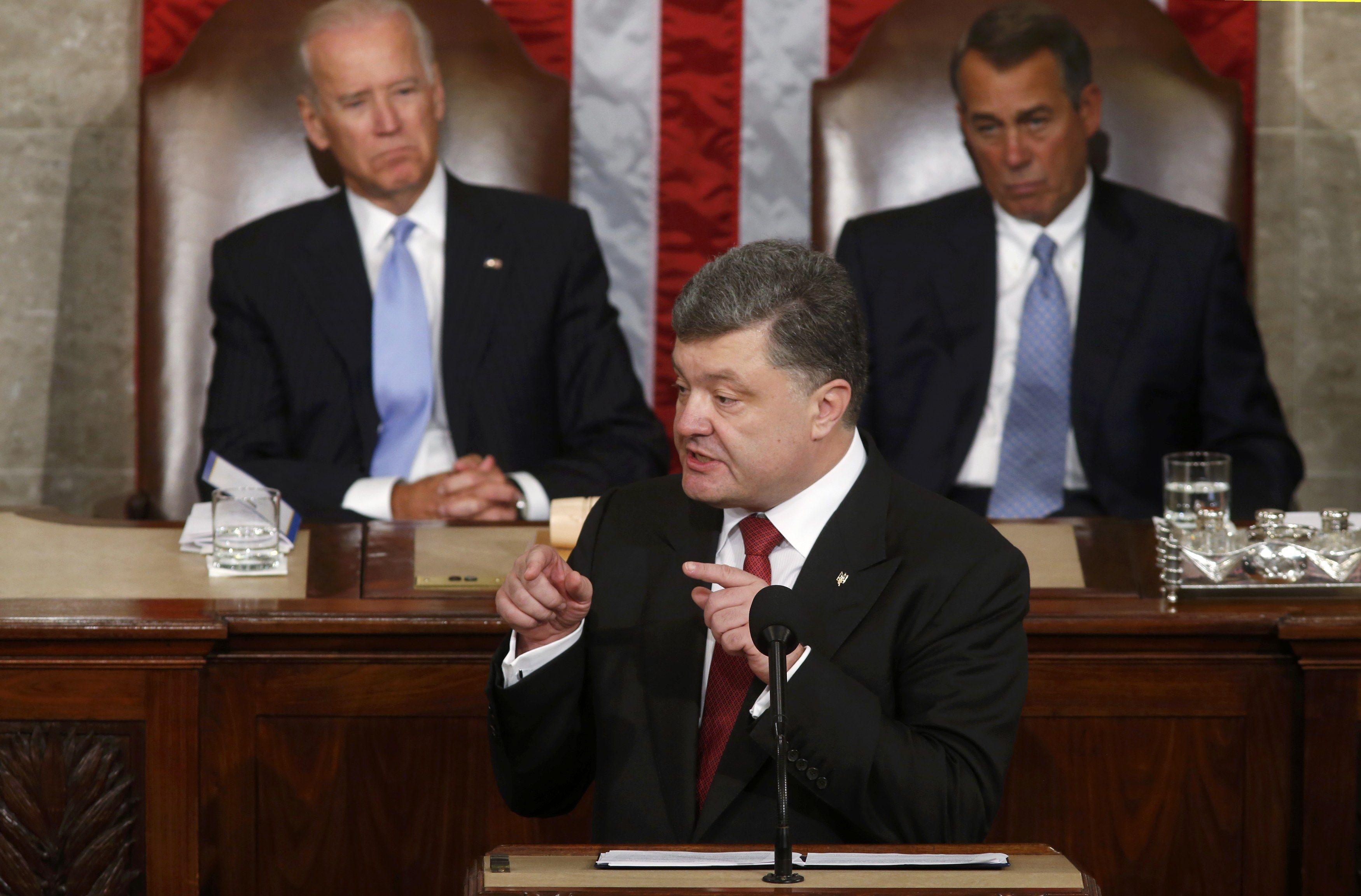 Порошенко в Конгрессе США, 18 сентября