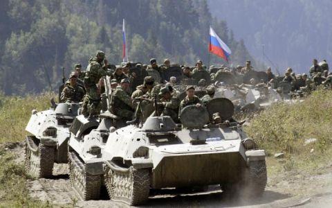 Российские войска на границе с Украиной, иллюстрация