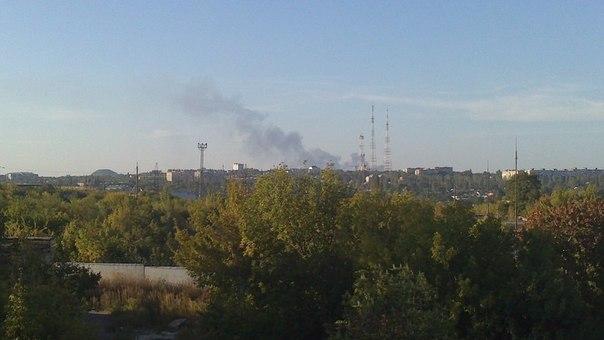 Взрыв возле аэропорта