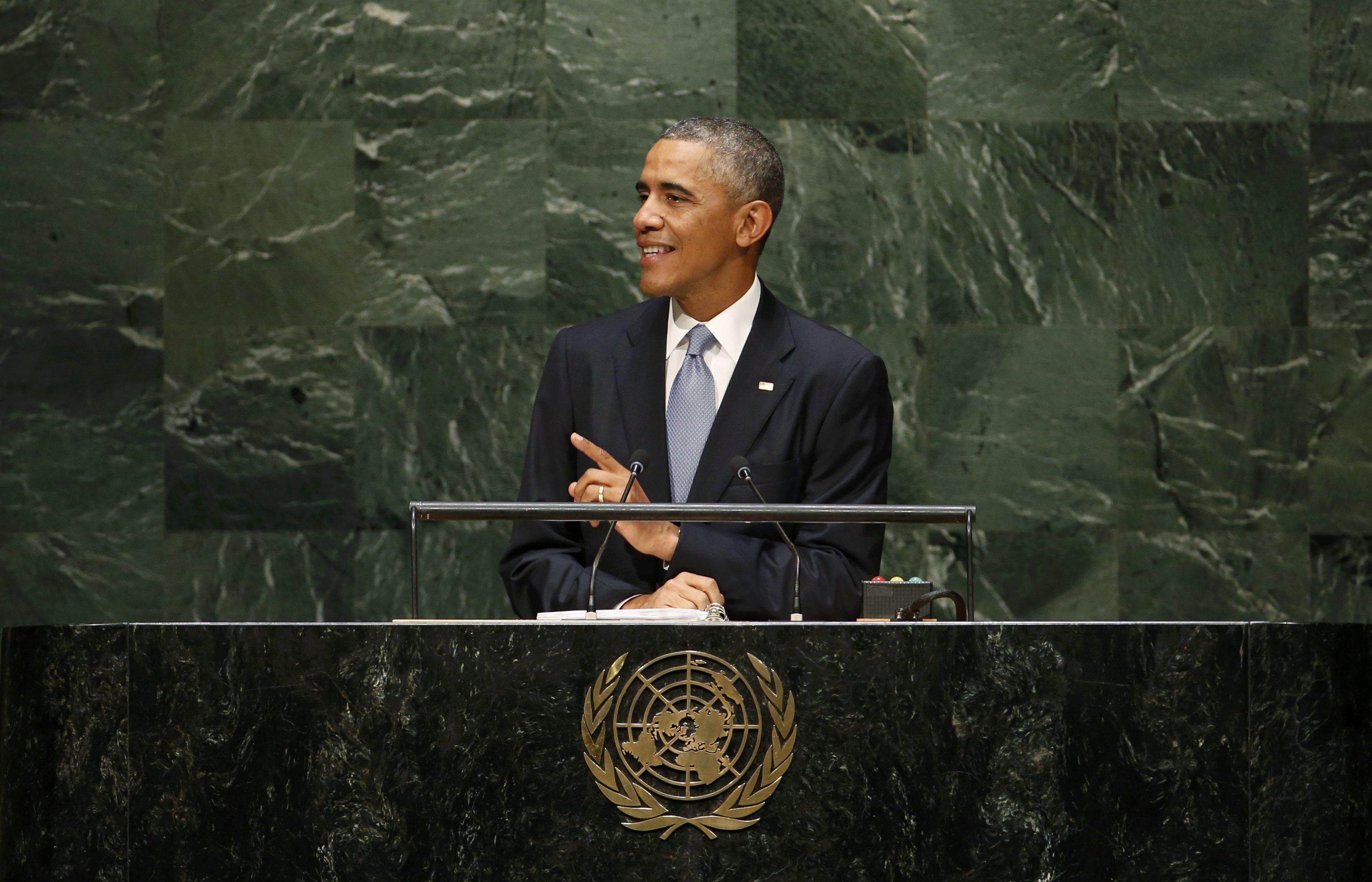 Обама в Генассамблее ООН