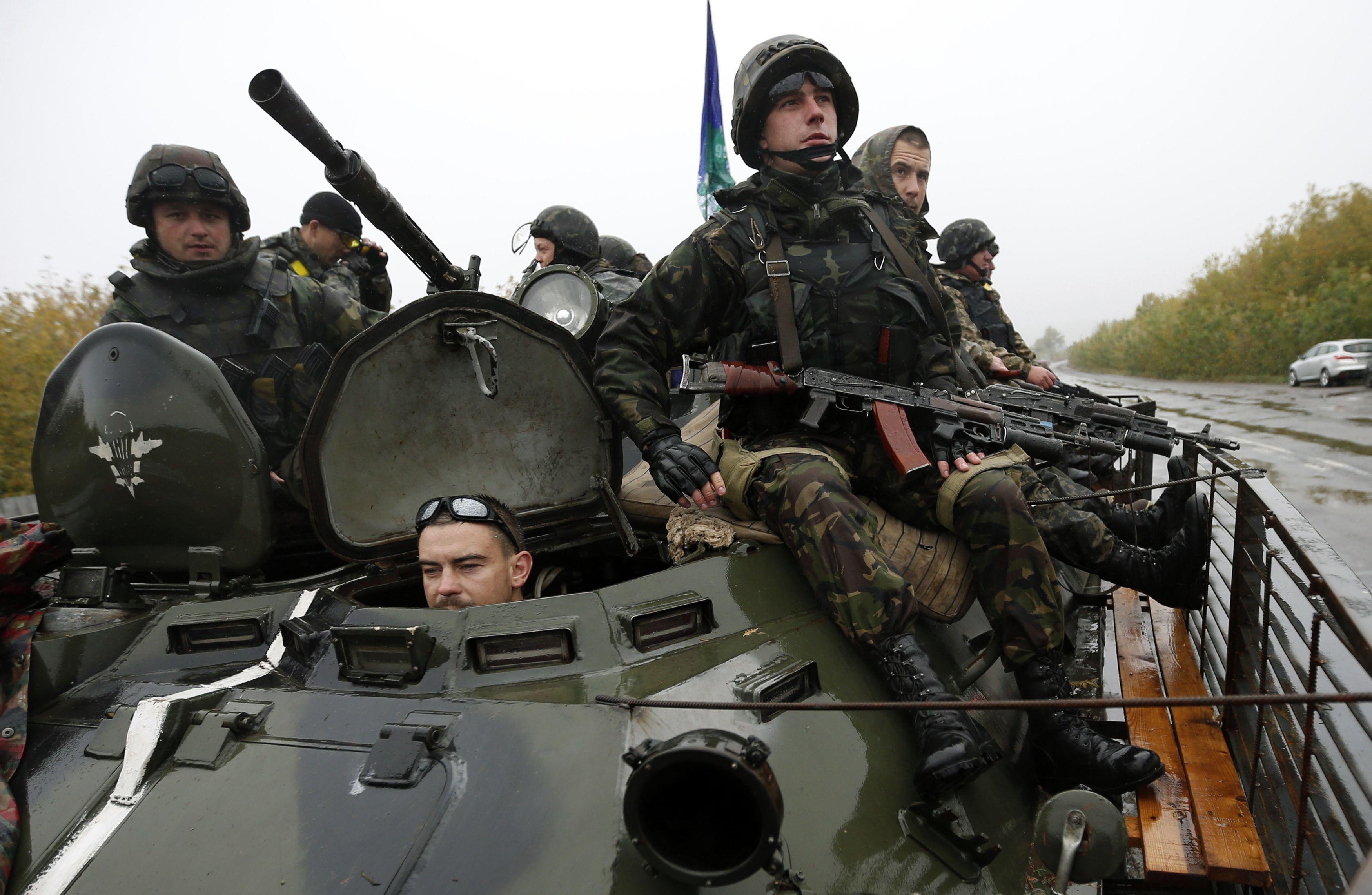 Силы АТО на Луганщине, иллюстрация