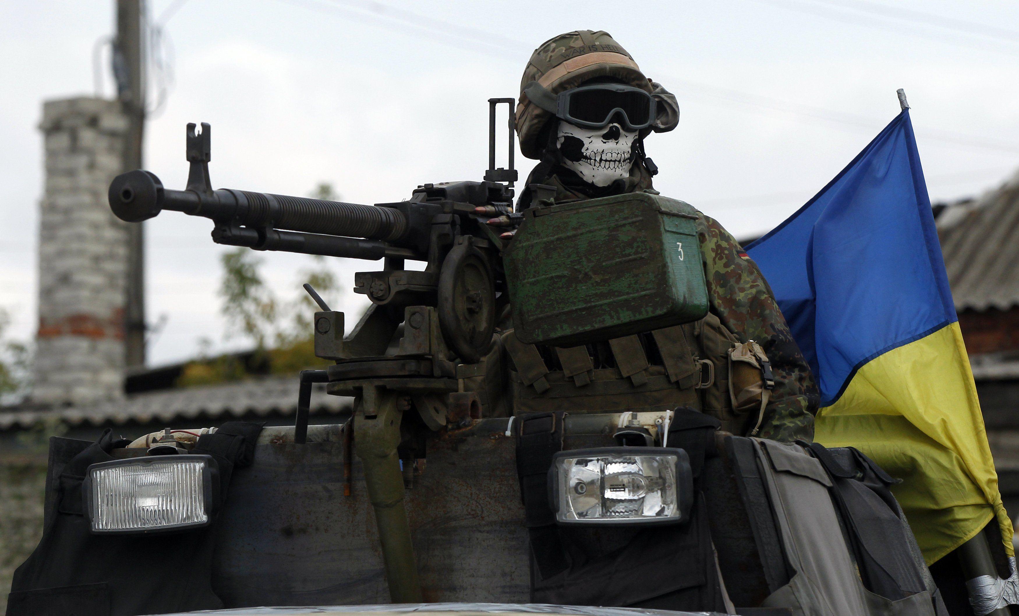 Украинские силовики отбили атаку