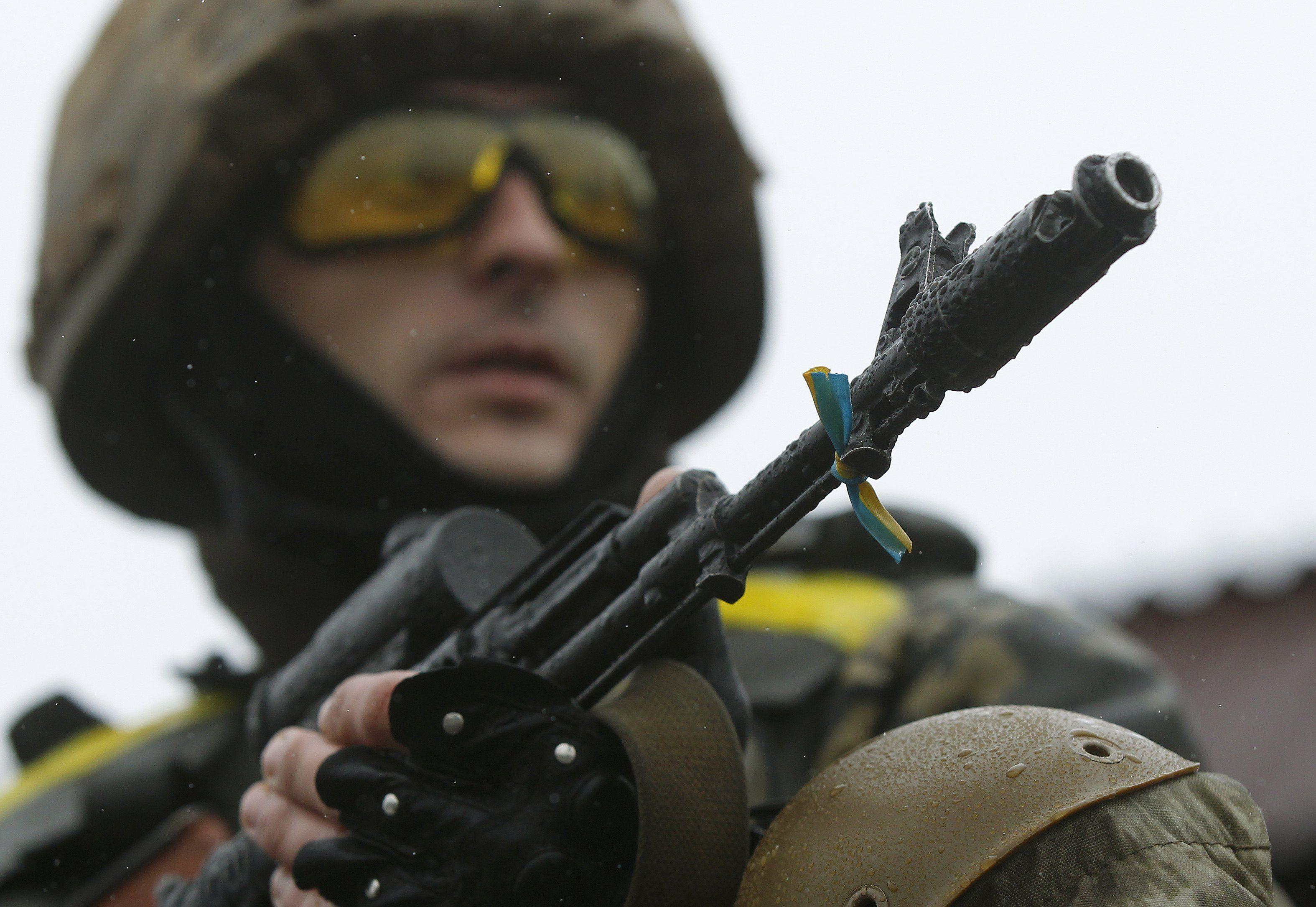 Украинский силовик
