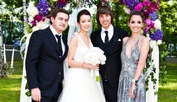Никоряк на свадьбе сына Ющенко