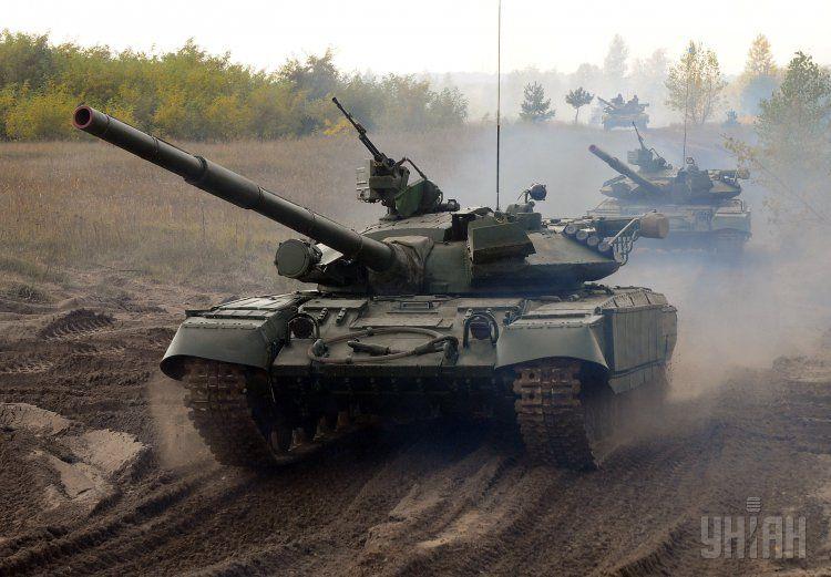 Модернизированные танки Т-64Б