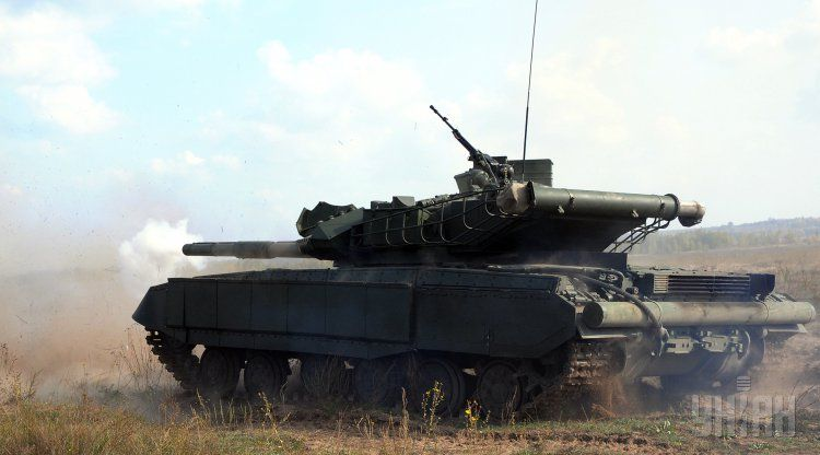 Украинский танк Т-64Б