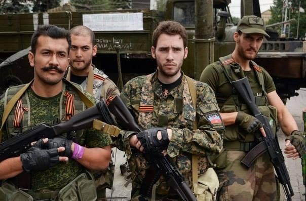 Иностранные боевики из ДНР
