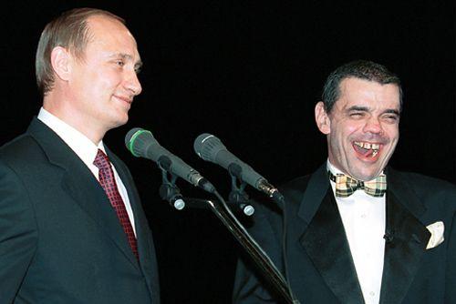 Константин Райкин и Владимир Путин