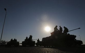 Российские войска возле границ Украины
