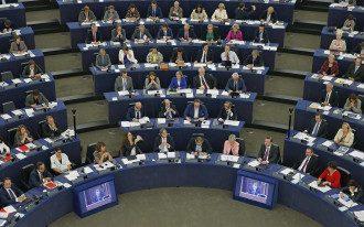 Заседание Европарламента, иллюстрация