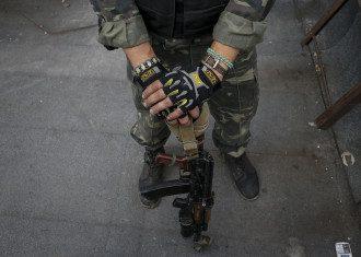 Украинский боец на Донбассе, иллюстрация