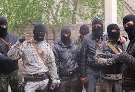 Боевики на Донбассе. Иллюстрация