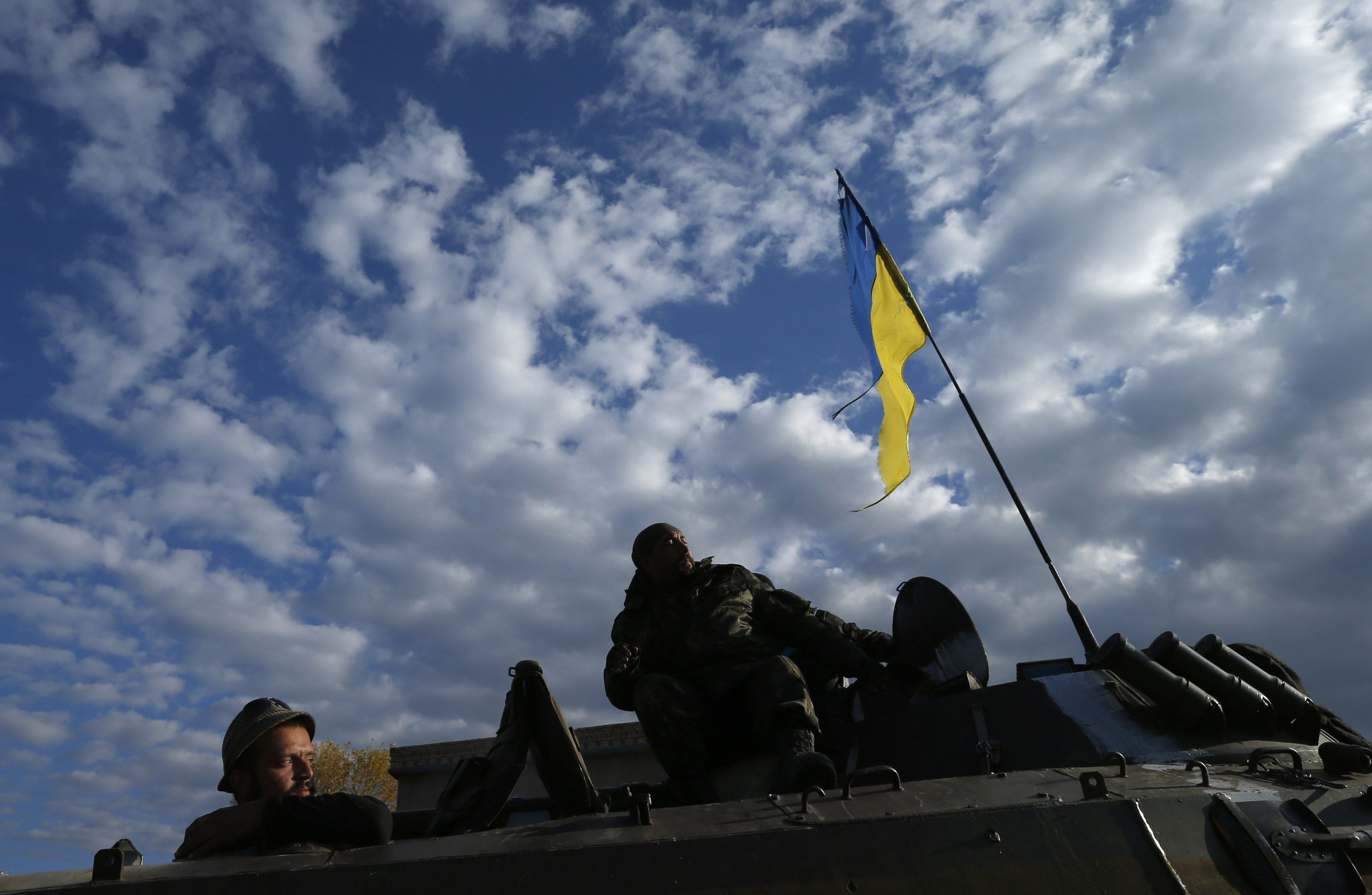 Украинские силовики, иллюстрация