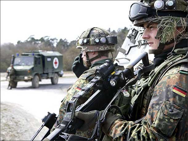 Солдат Бундесвера, иллюстрация