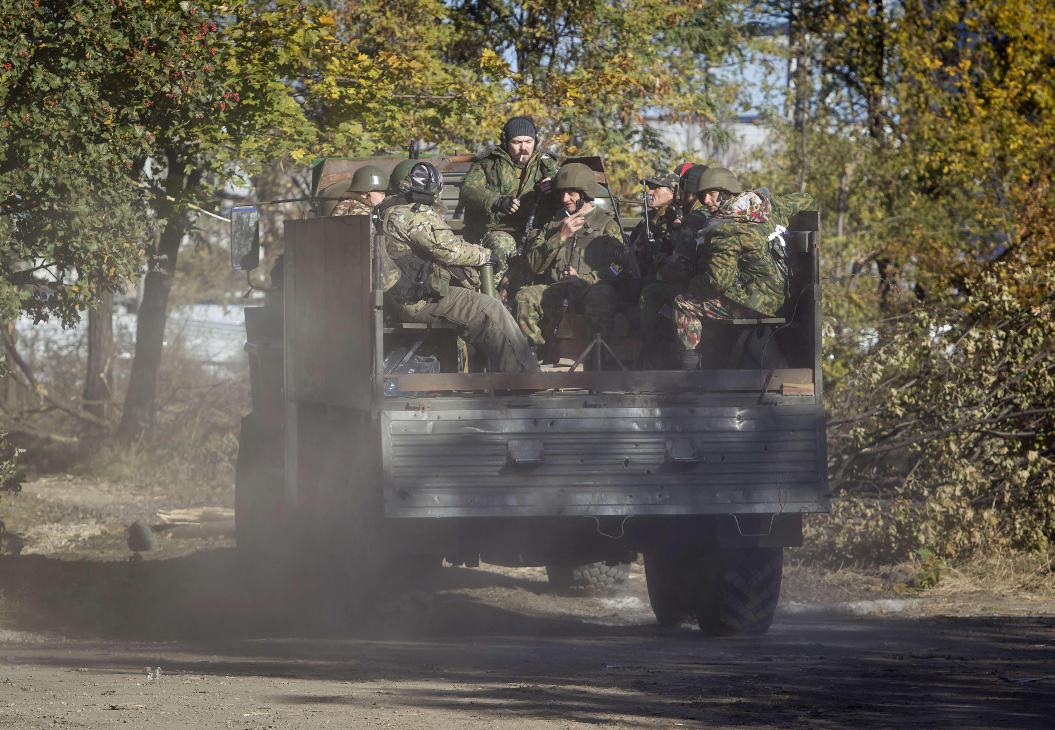 Боевики готовят штурм аэропорта