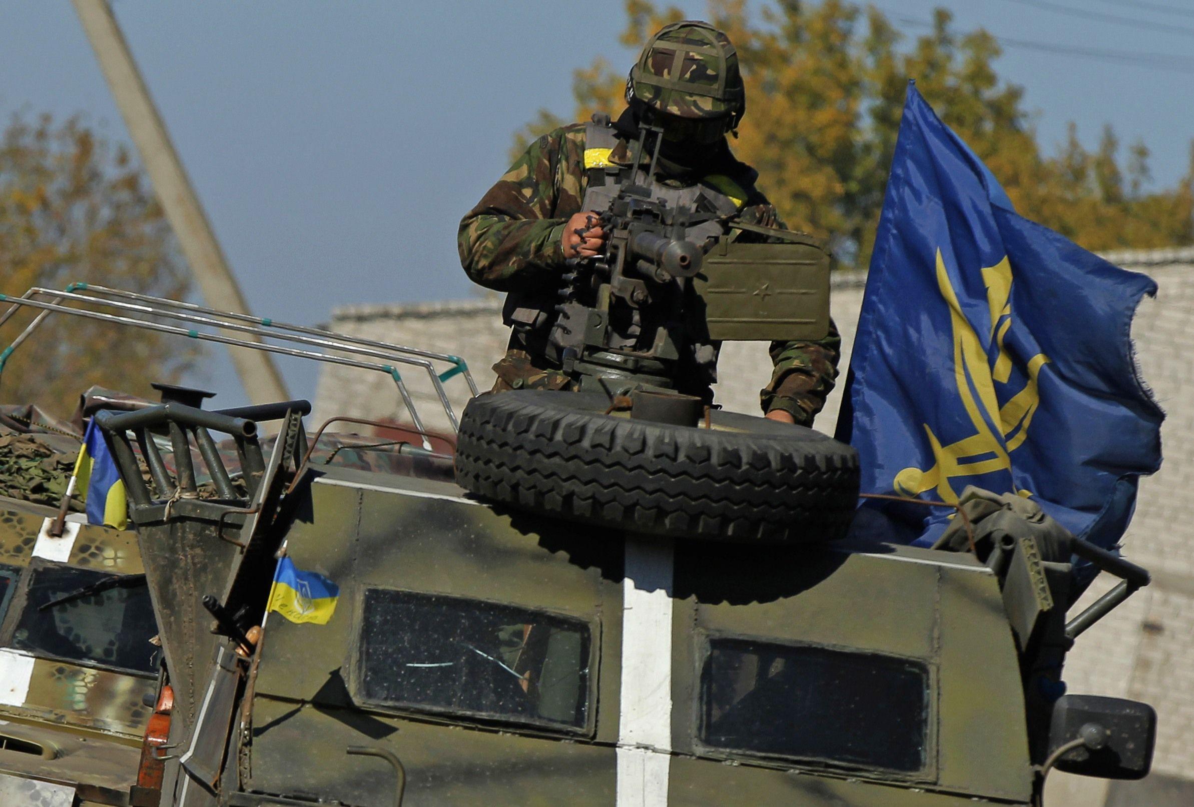 Военкомы несут службу наравне с остальными мобилизованными, иллюстрация