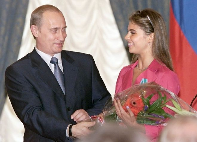 Владимир Путин и Алина Кабаева