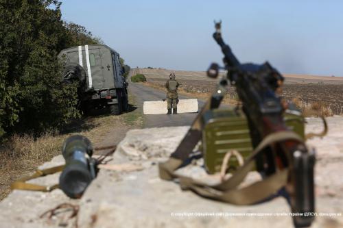 Пограничники на Донбассе, иллюстрация