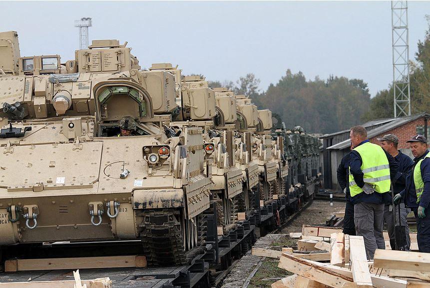 США планирует разместить танки в Европе, иллюстрация