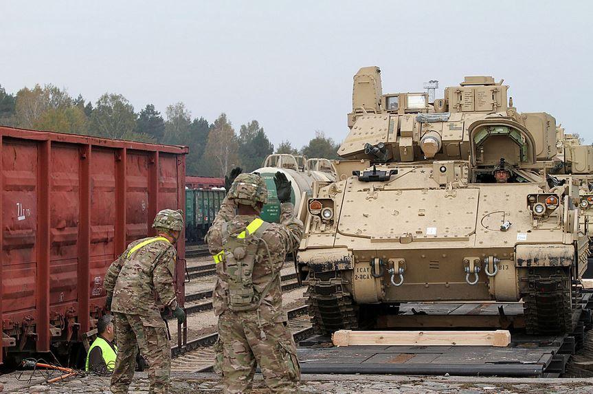 Данная техника будет использоваться американскими войсками.