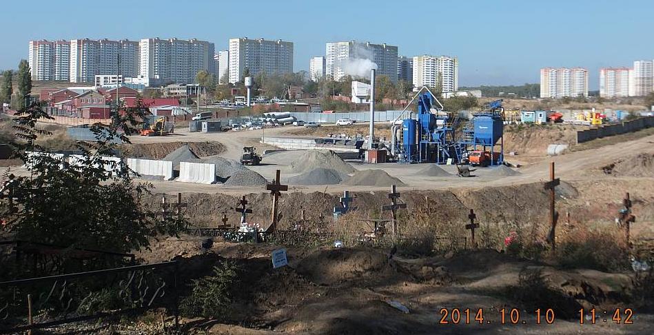 Кладбище в Ростове-на-Дону