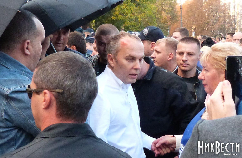 Нестор Шуфрич в Николаеве