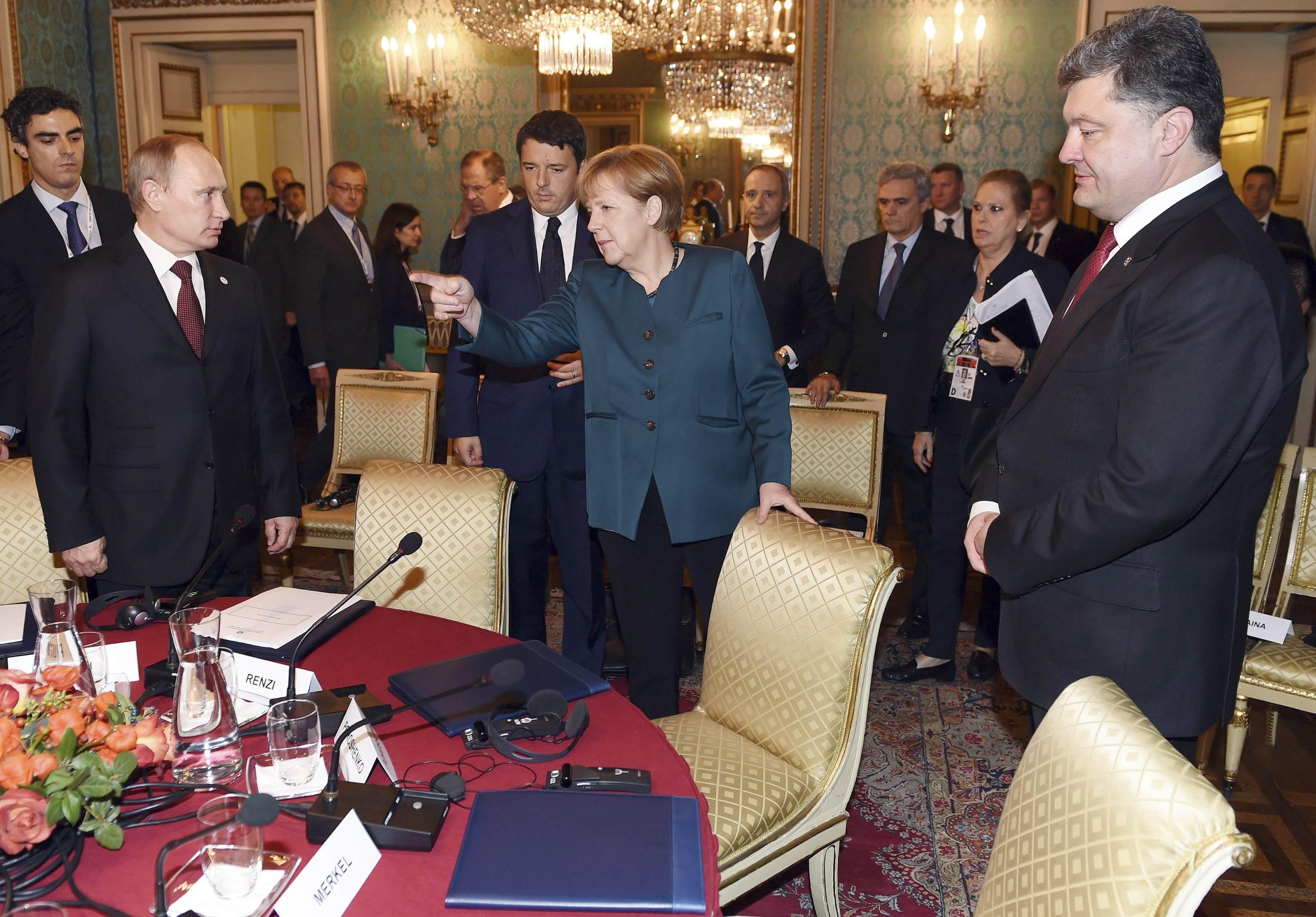 Меркель указала РФ на ее место в мире