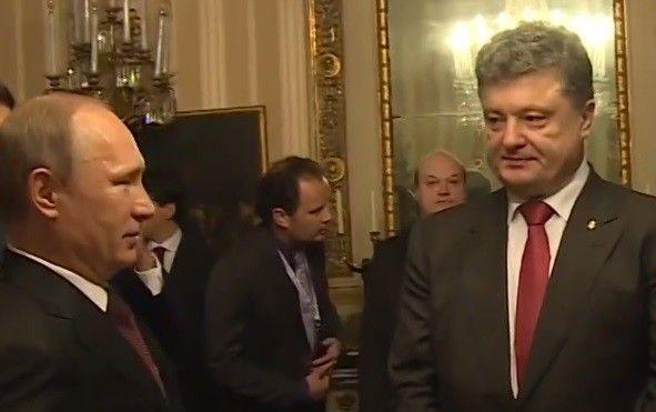 Петр Порошенко по телефону поговорил с Владимиром Путиным